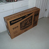 """Jenny also brought a 37"""" TV from Raleigh to Kure Beach in the car trunk for the master bedroom."""