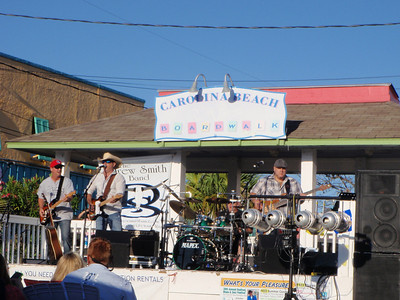 Concert at Carolina Beach Boardwalk