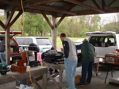 Kutztown, PA Delaware Historic Radio Club Meet- Spring 2008