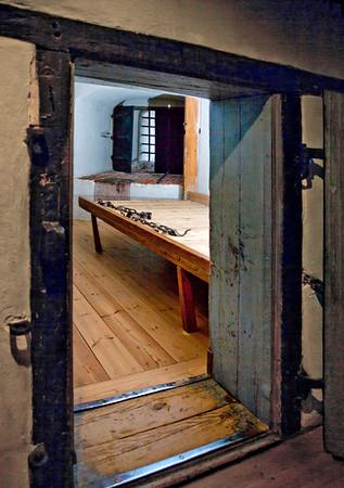 Turun linnan vankiselli / Prison cell in Turku Castle