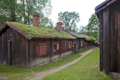 Luostarinmäen museoaluetta / Luostarinmäki Handicrafts Museum
