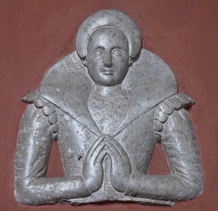 Kaarina Maununtyttären hautareliefi Turun tuomiokirkossa / Relief of Karin Månsdotter at Turku Cathedral