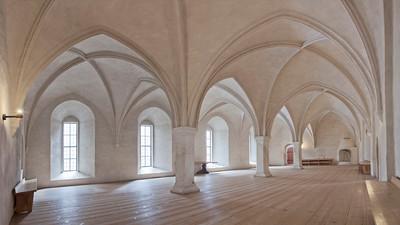 Turun linnan vanha kuninkaansali / Medieval Hall of Kings in Turku Castle