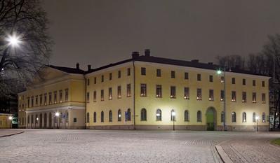 Vuonna 1817 valmistunut Akatemiatalo / Academy House of Turku built in 1817