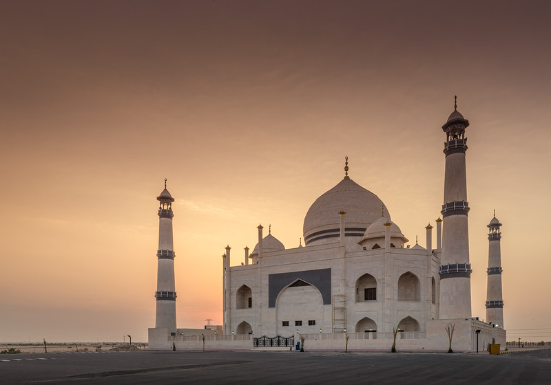 Kuwait - Taj Mahal Mosque