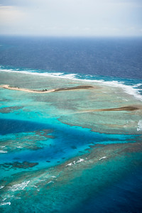Kwajalein Atoll from Above