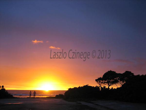 Sunrise on East Reef