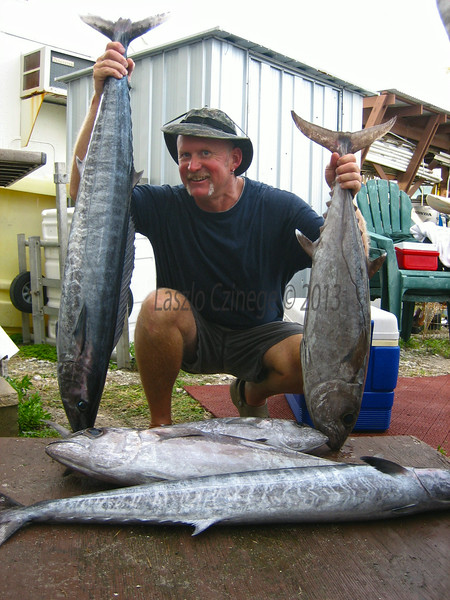 Steve Campbell, Dogtooth, Ono, and yellowfin