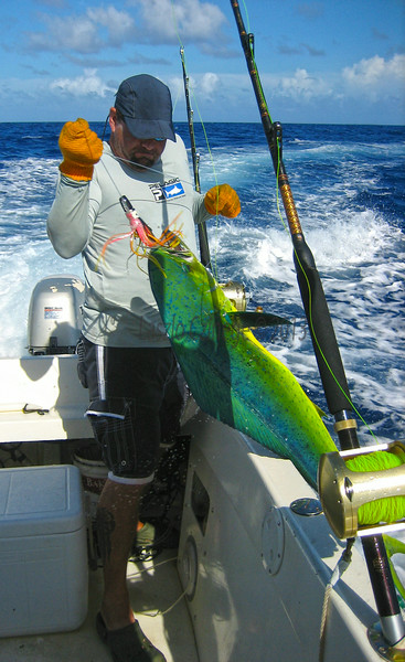 Chad Stiller and Mahi