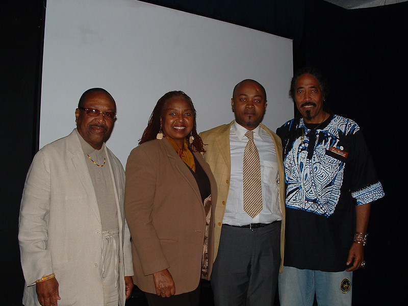 Dr. Kwaku, Phyliss Battle (Soloist, and member of the 5th Dimension), Mr. Lumumba and Ezioku.