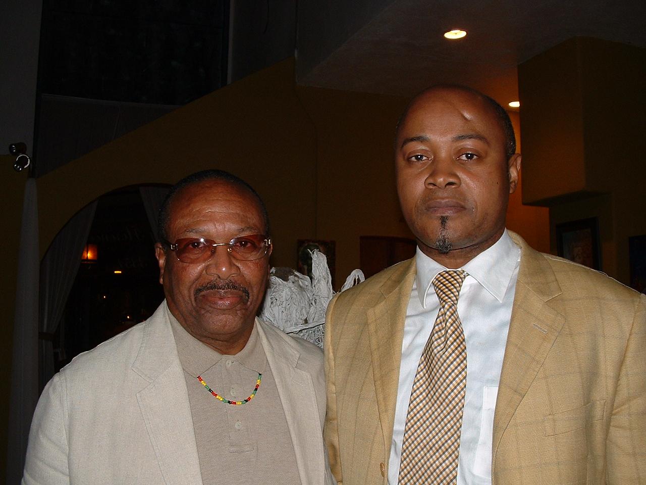 Dr. Kwaku and Guy Patrice Lumumba of Congo