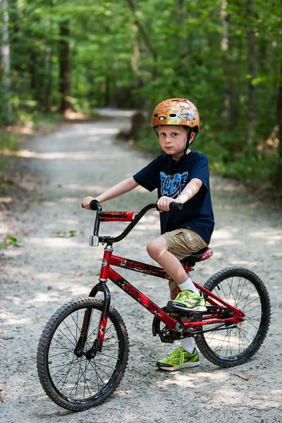 Bike ride at Burke Lake, Fairfax, Virginia. Aug 2014. Digital.