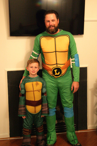 Kyle and I in our costumes.<br /> Manassas, VA. 2013