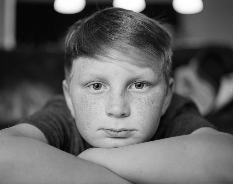Portraiture. TriX film in medium format. March 2018.