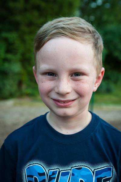 Kyle at the park in Virginia. Digital, June 2014.