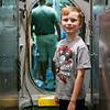 Inside the USS Torsk submarine in the Baltimore Inner Harbor. August 2014. Digital.