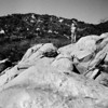 Hiking Tenaja Falls, San Mateo Canyon Wilderness Area, Feb 2013. Taken with Kodak Tri-X film.