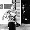Looking hard on the court! Aug 2016. Kodak Tri-X.