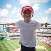 Kyle at the Nationals Park, Washington DC. Digital, June 2014.