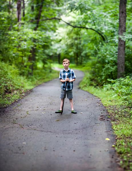 Sugarland Run trail. Herndon, VA. Jul 2015. Digital. Brenizer Method.