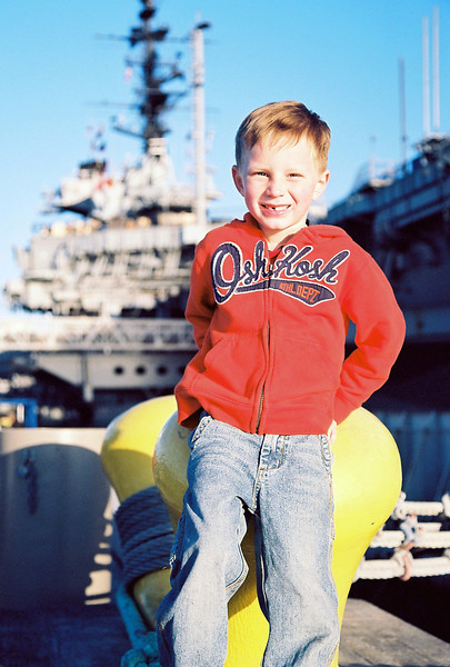 Checking out the aircraft carried USS Midway in downtown San Diego, Feb 2013.