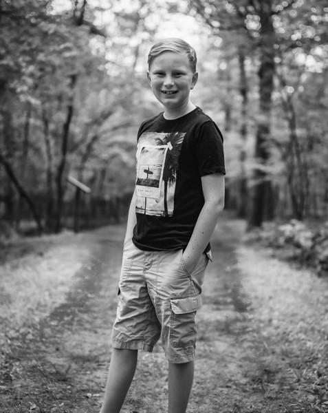 Second camping trip of the 2018 summer. Trout Pond, West Virginia. Kodak Portra medium format. Jul 2018.