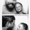 Photo booth with Kyle, California, March 2012.