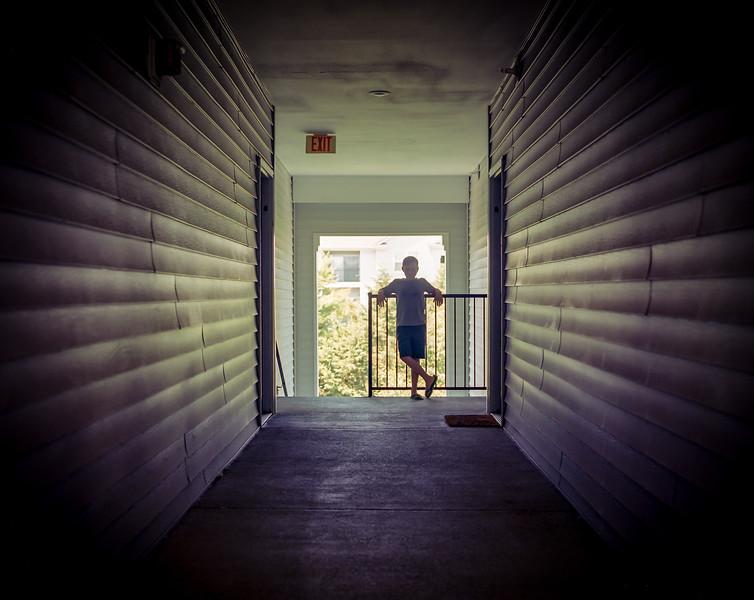 Fairfax VA. Portra medium format film.