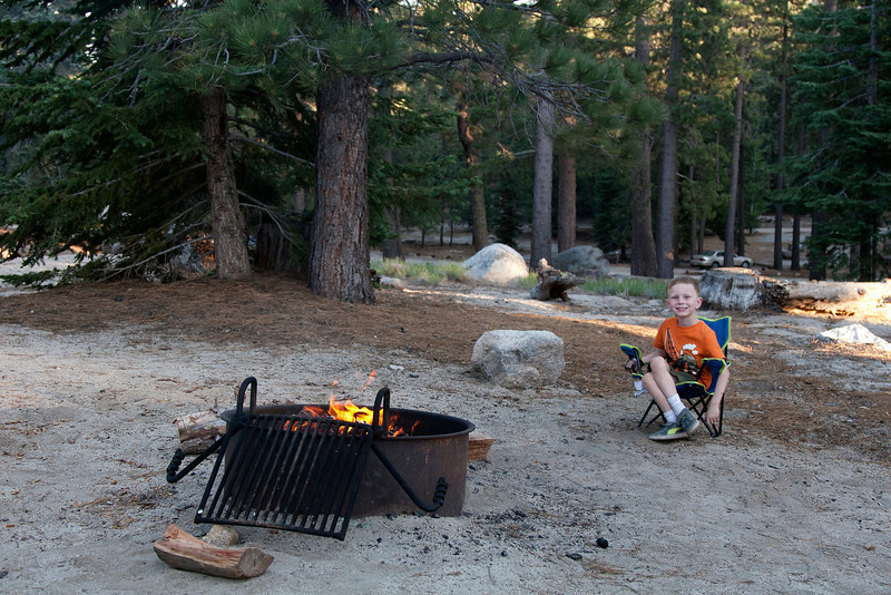 Our first camping trip in Socal! Boulder Basin outside of Banning, CA, amazingly only an hour from our house!