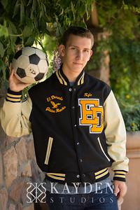 Kyle Senior Portraits - El Dorado