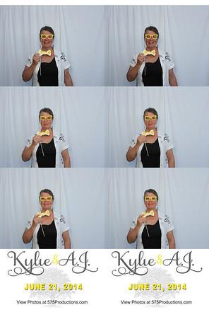 Kylie & AJ Photo Strips