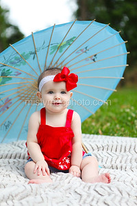 Kyndal Bergeron 6 month portraits 2014