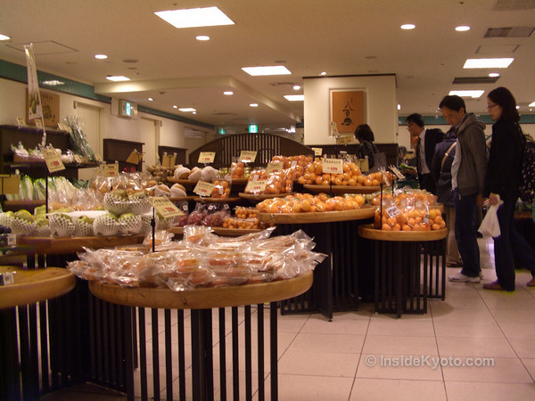 Shop Isetan Department Food Floor Kyoto Station Area
