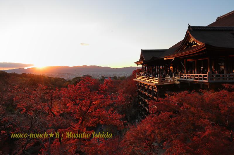 Kiyomizudera Sunset