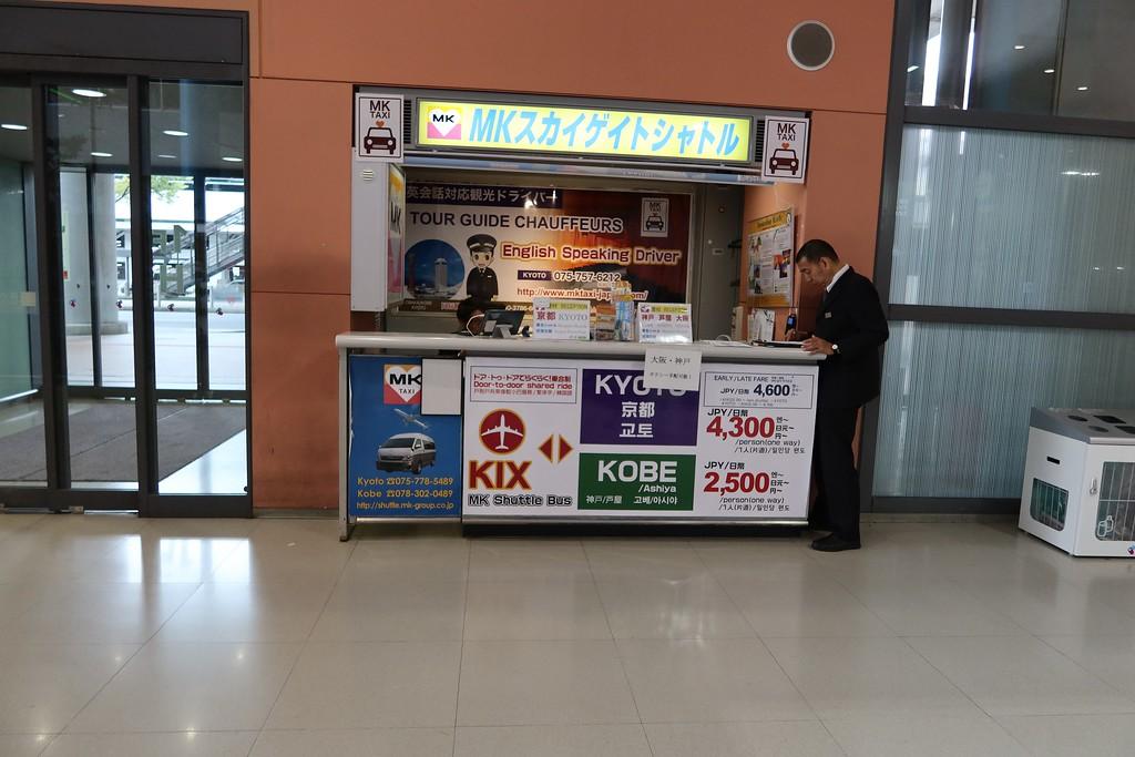 MK Taxi counter