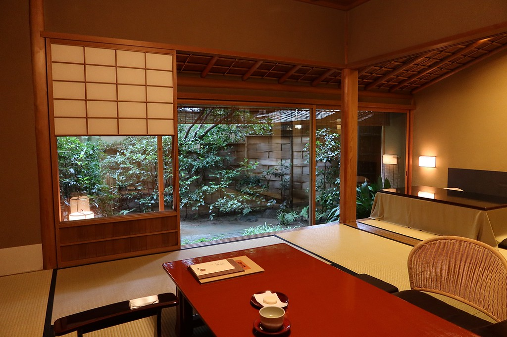 Shorai room at Tawaraya ryokan