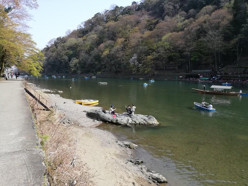 Katsura-gawa Riverside