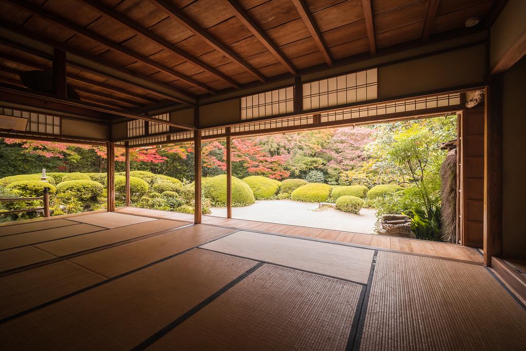 Shisen-do Temple. Editorial credit: Kanisorn Pringthongfoo / Shutterstock.com
