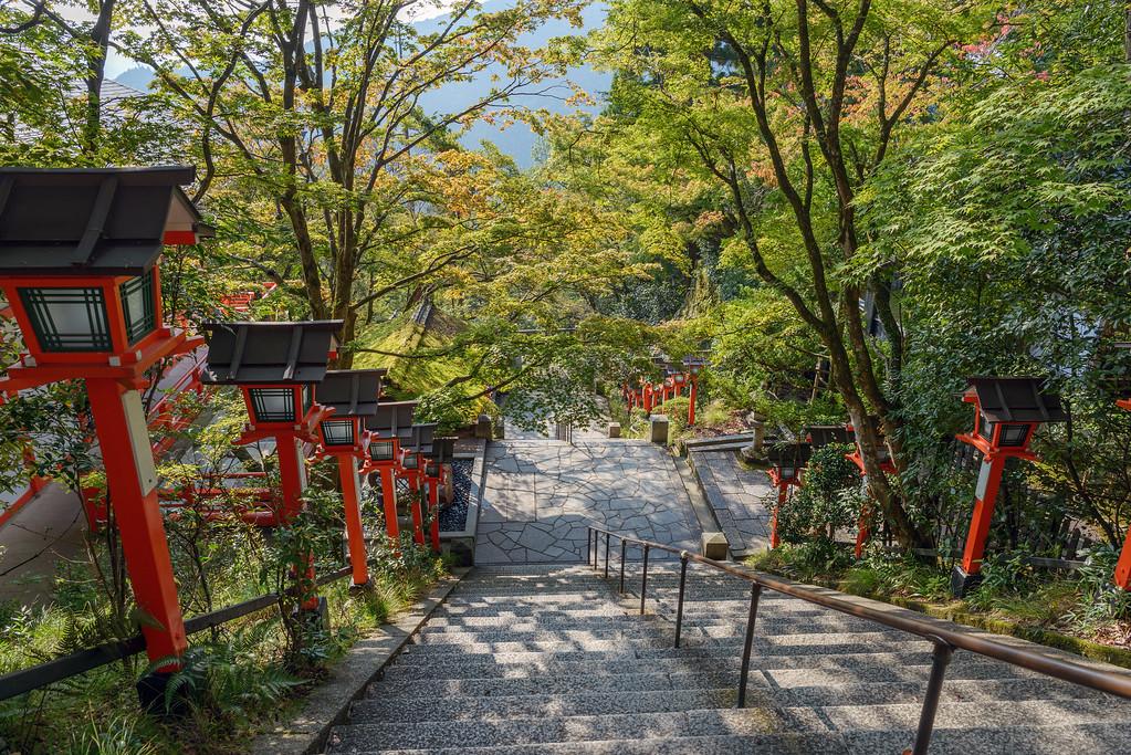 Kurama-dera Temple. Editorial credit: mTaira / Shutterstock.com
