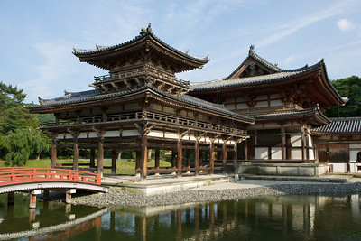 Byodo-in Temple from Side  Japanese World Cultural Heritage in Uji City near Kyoto
