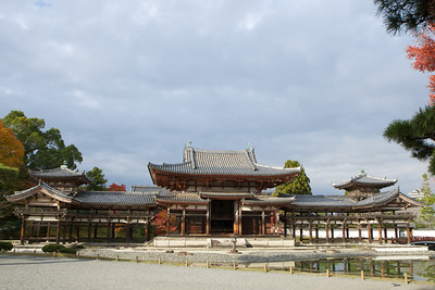 Byodo-in Temple, whole Shot  Japanese World Cultural Heritage at Uji City, south of Kyoto