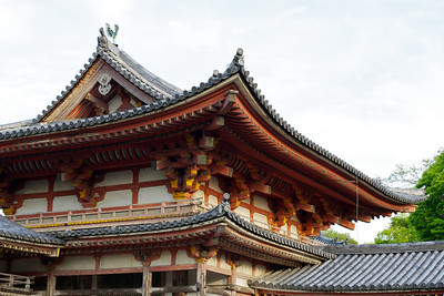 Byodo-in Temple Phoenix hall from back