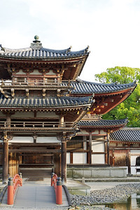 Byodo-in Temple, entrance to Phoenix Hall