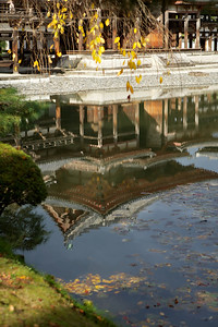Byodo-in Temple Phoenix Hall Reflection