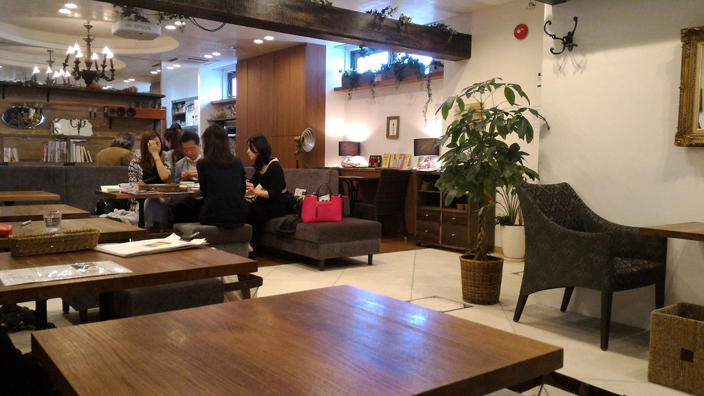 Interior of Choice in Northern Higashiyama.