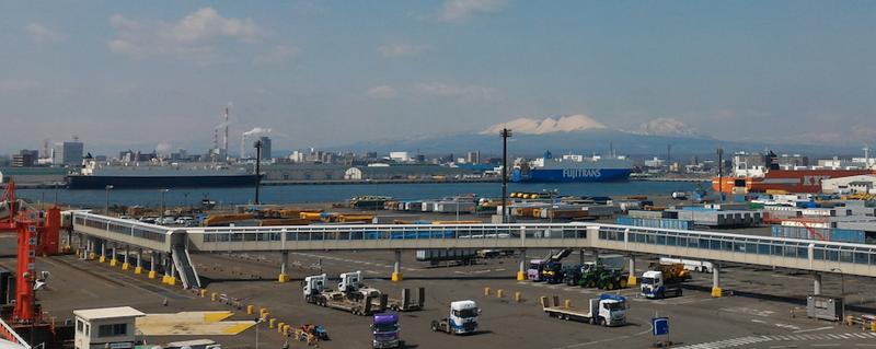 Arriving in Hokkaido