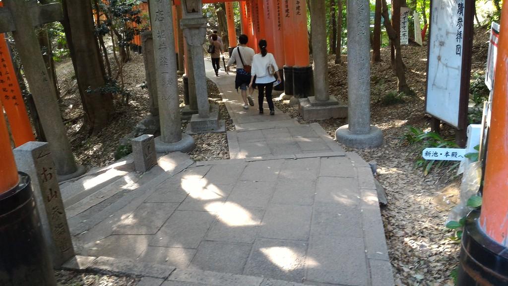 Junction at Mitsu-suji