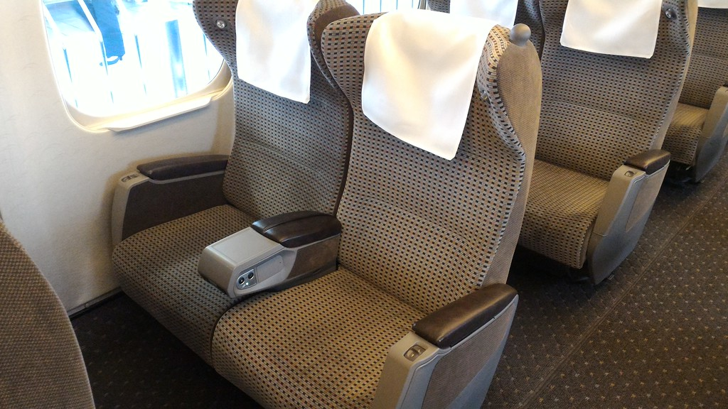 Shinkansen Green Car seats