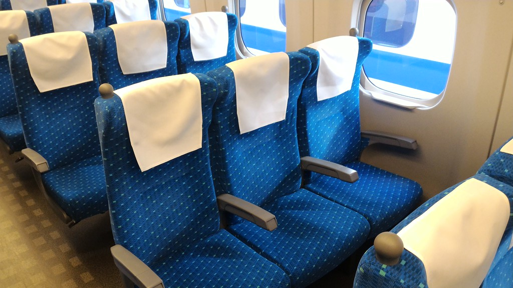 Shinkansen ordinary car seats