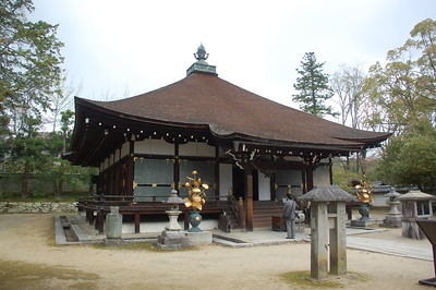 The Mie-do at Ninna-ji Temple was built in the Kanei era (1624-44)